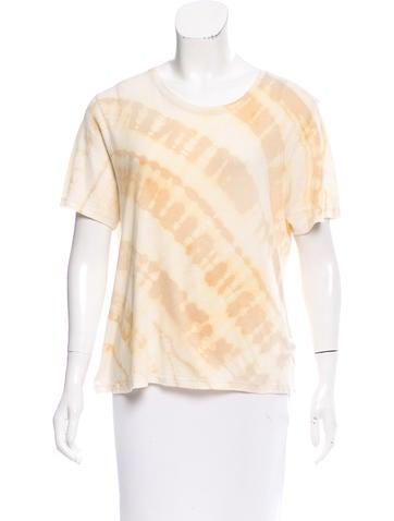 Raquel Allegra Tie-Dye Short Sleeve Top w/ Tags None