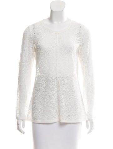 Raquel Allegra Silk Long Sleeve Top w/ Tags None
