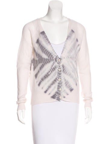 Raquel Allegra Cashmere Knit Cardigan None