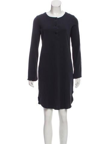 Raquel Allegra Rib Knit Knee-Length Dress None