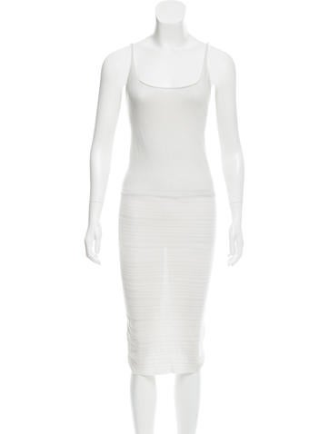 Raquel Allegra Sleeveless Midi Dress None
