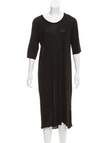 Raquel Allegra Jersey Knit Midi Dress w/ Tags None
