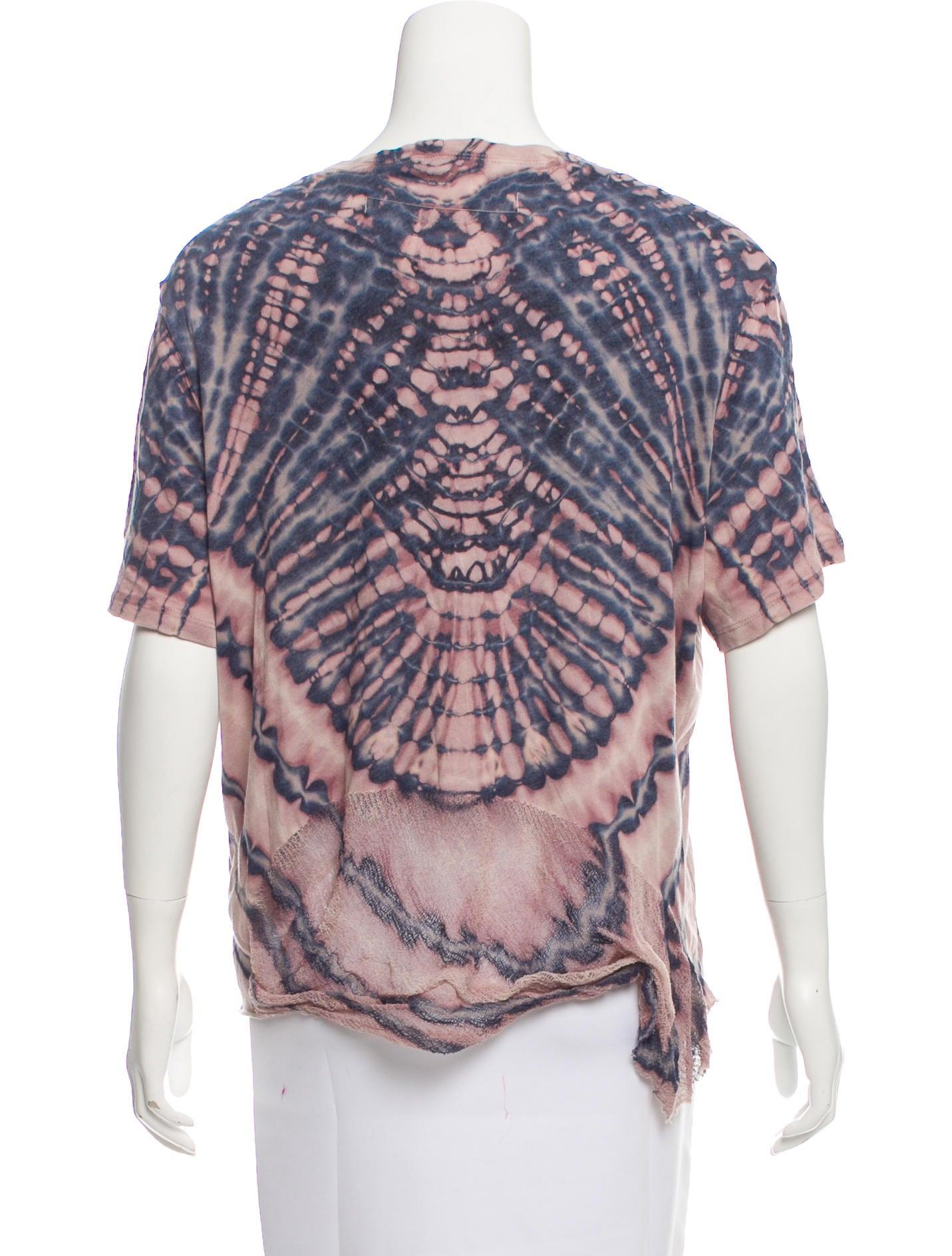 Raquel Allegra Tie Dye Short Sleeve T Shirt W Tags