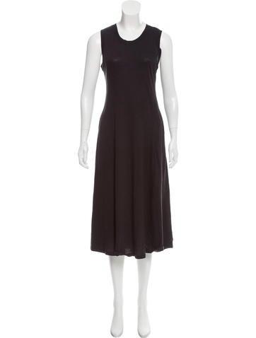 Raquel Allegra Big Sweep Midi Dress None
