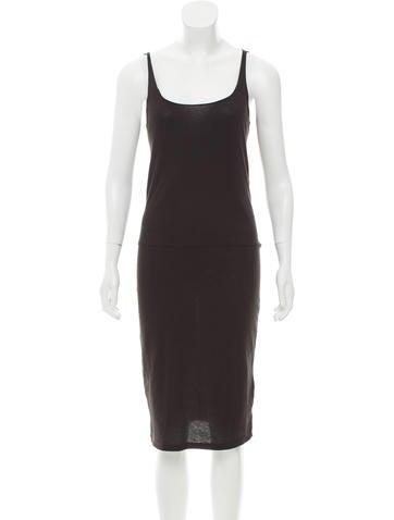 Raquel Allegra Sleeveless Midi Dress w/ Tags None