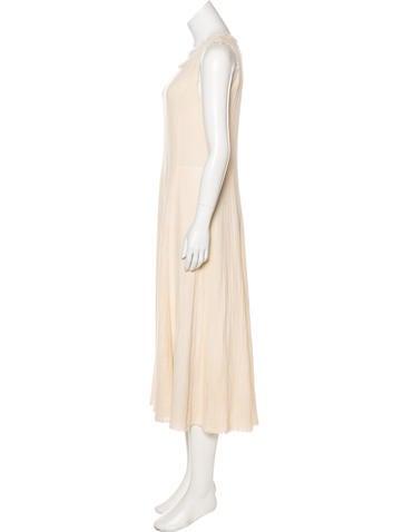 Textured Maxi Dress