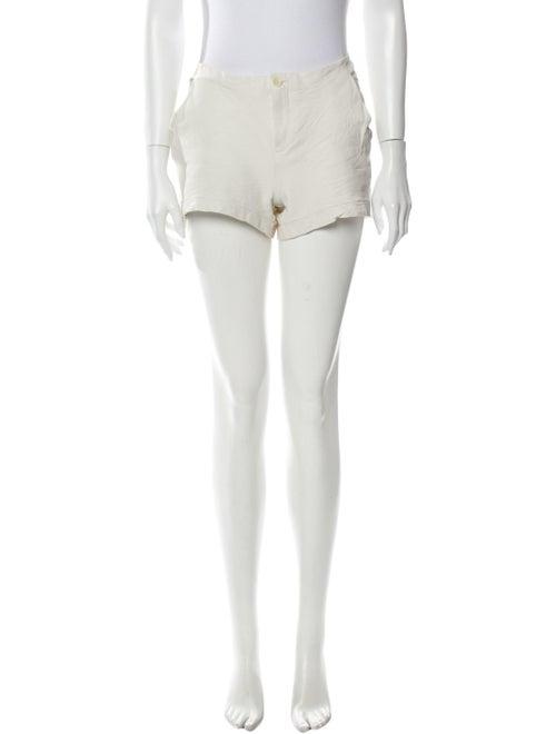 Raquel Allegra Silk Mini Shorts