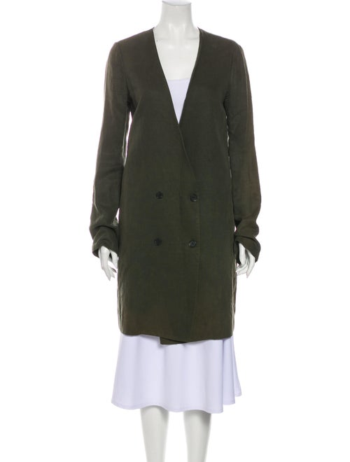 Raquel Allegra Coat Green