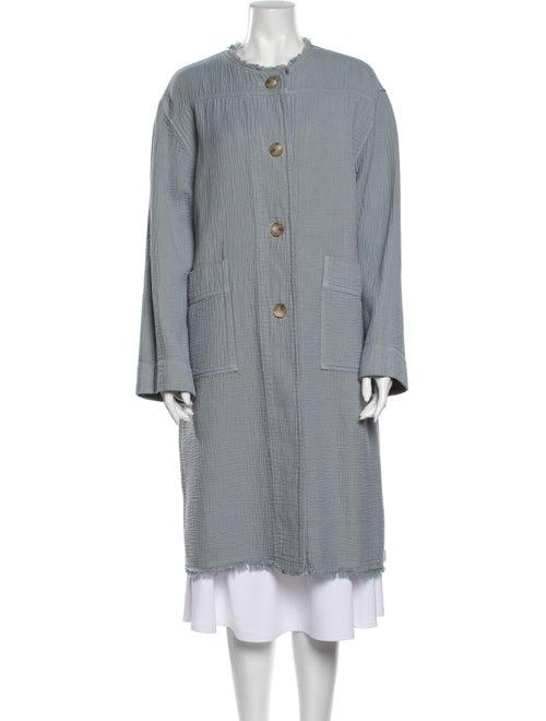 Raquel Allegra Cocoon Coat w/ Tags Blue