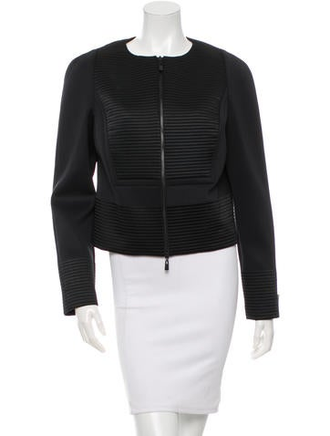 Robert Rodriguez Textured Fitted Jacket w/ Tags None