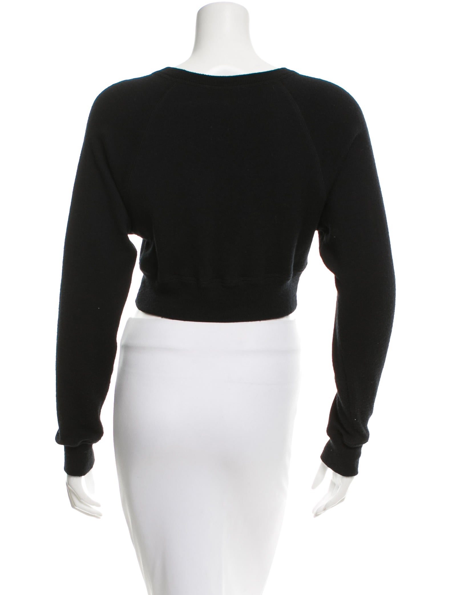 Robert Rodriguez Wool Cropped Sweater Clothing Wrr26459 The Realreal