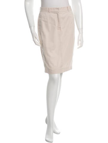 Robert Rodriguez Sheath Knee-Length Skirt None