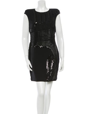Robert Rodriguez Embellished Mini Dress None