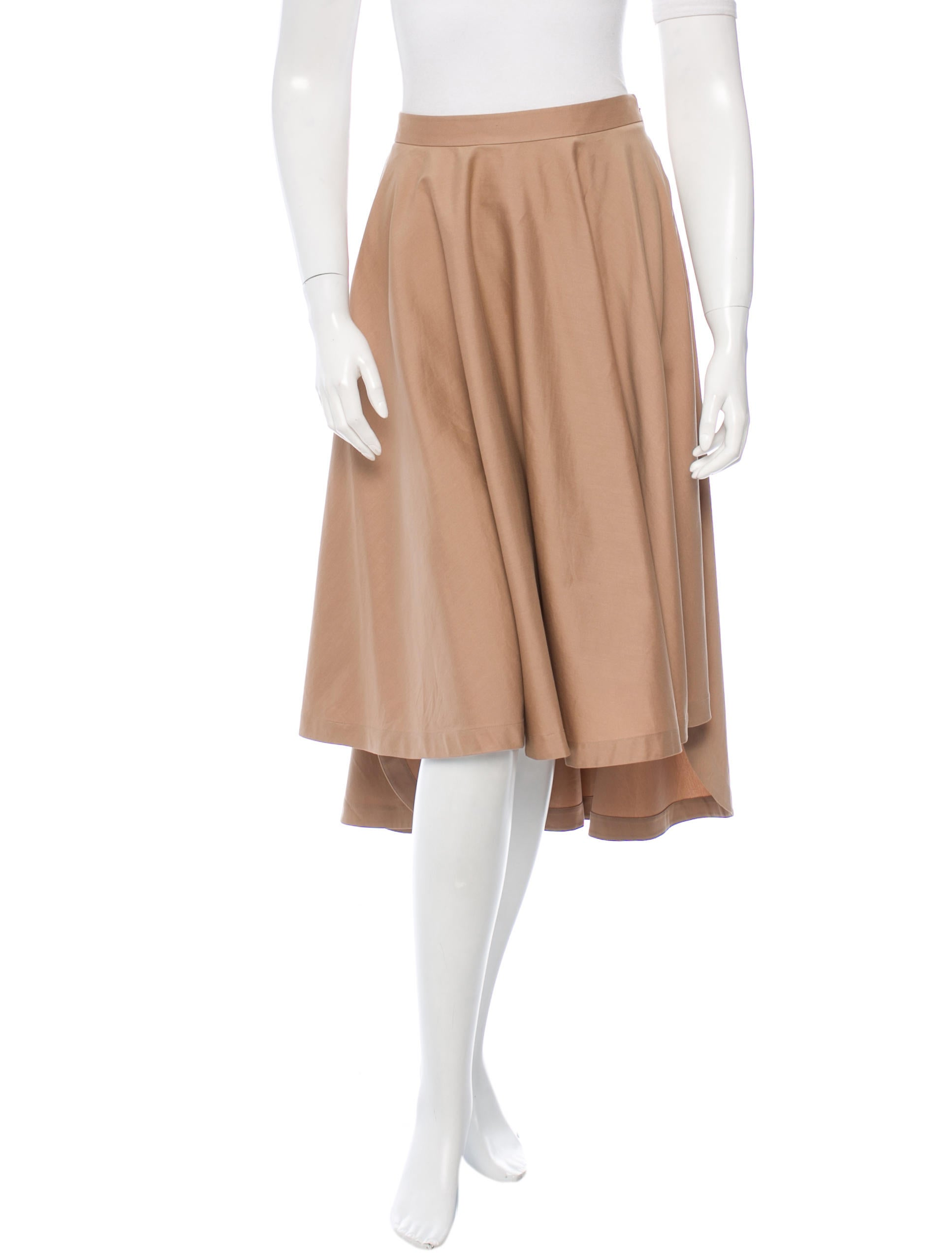robert rodriguez pleated a line skirt clothing