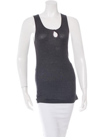 Robert Rodriguez Rib Knit Tank Top None