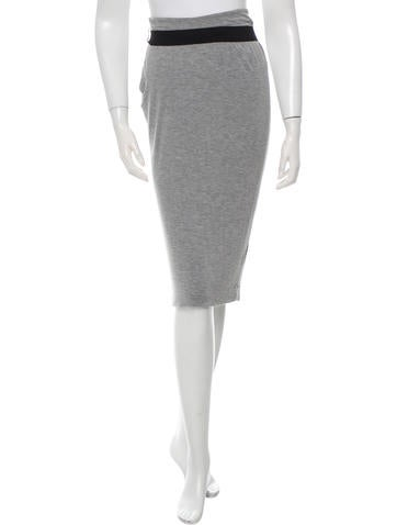 Robert Rodriguez Knee-Length Bodycon Skirt None