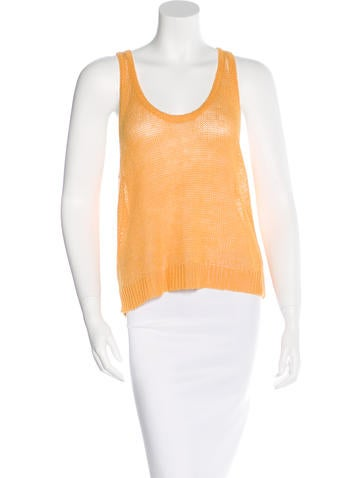 Robert Rodriguez Linen Knit Top None