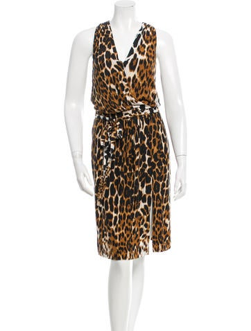 Robert Rodriguez Printed Sleeveless Dress