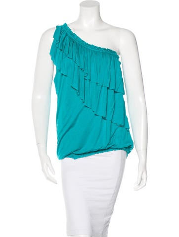 Robert Rodriguez Ruffled Sleeveless Top w/ Tags None