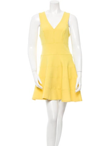 Robert Rodriguez A Line Mini Dress Clothing Wrr27247 The Realreal