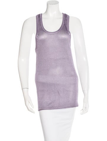 Robert Rodriguez Knit Sleeveless Top None