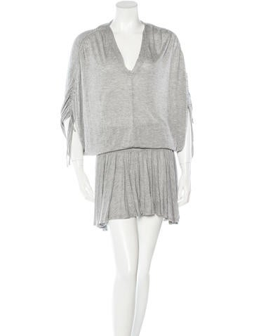 Robert Rodriguez Knit Knee-Length Dress None