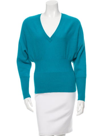 Robert Rodriguez Cashmere Rib Knit Sweater None