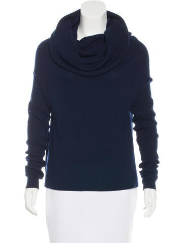Robert Rodriguez Cashmere Cowl Neck Sweater None