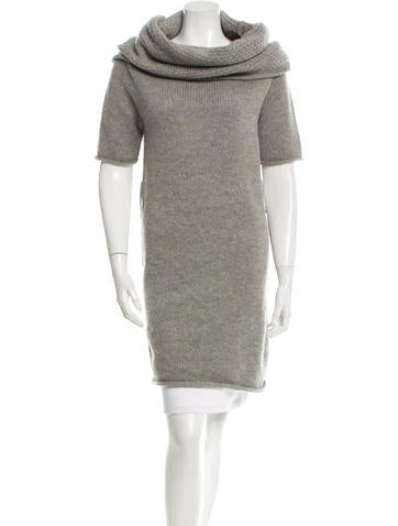Robert Rodriguez Wool Cowl Neck Tunic None