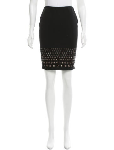 Robert Rodriguez Knee-Length Pencil Skirt None
