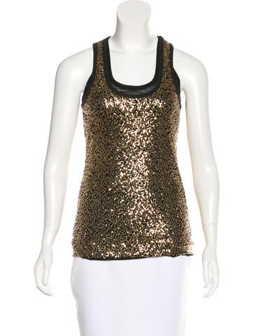 Robert Rodriguez Embellished Sleeveless Top None