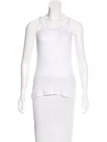 Robert Rodriguez Sleeveless Rib Knit Top None