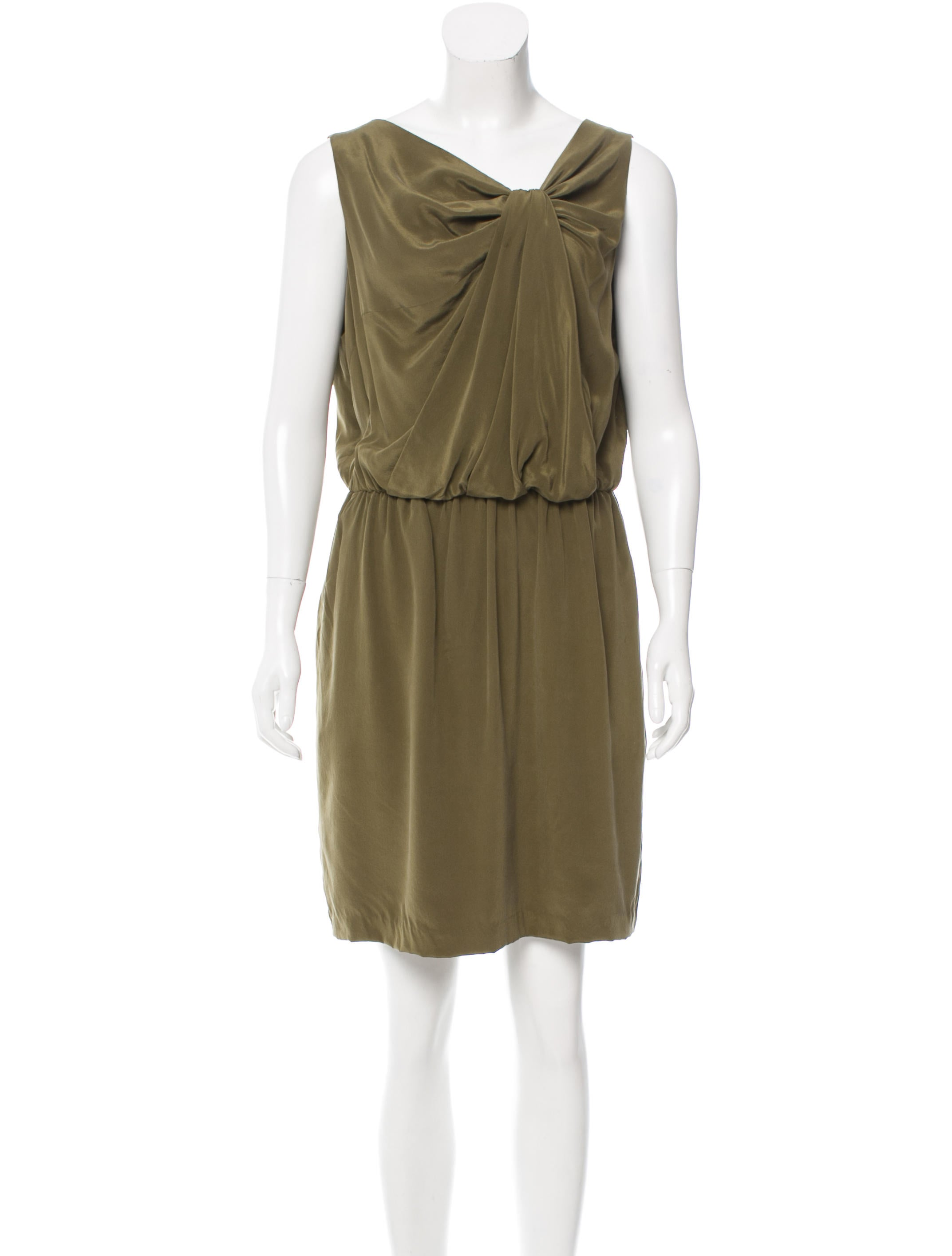 Robert Rodriguez Silk Draped Dress W Tags Clothing Wrr28875 The Realreal