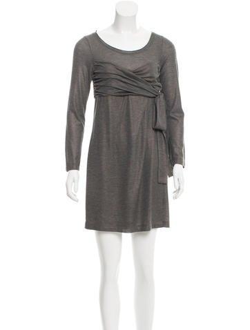 Robert Rodriguez Long Sleeve Mini Dress None
