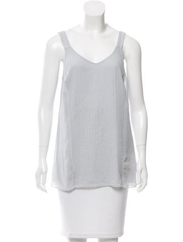 Robert Rodriguez Embellished Sleeveless Top w/ Tags None