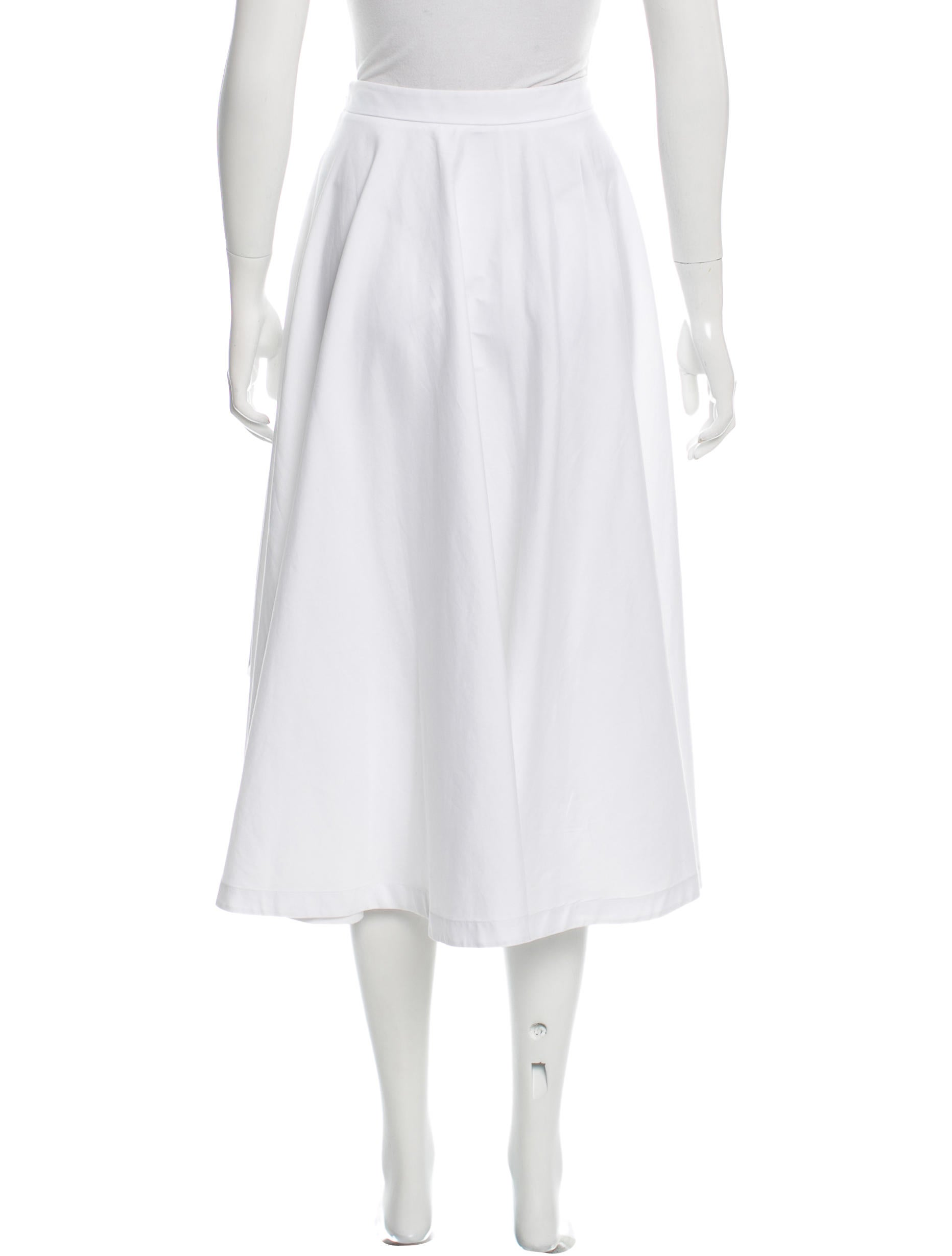 robert rodriguez semi sheer high low midi skirt clothing