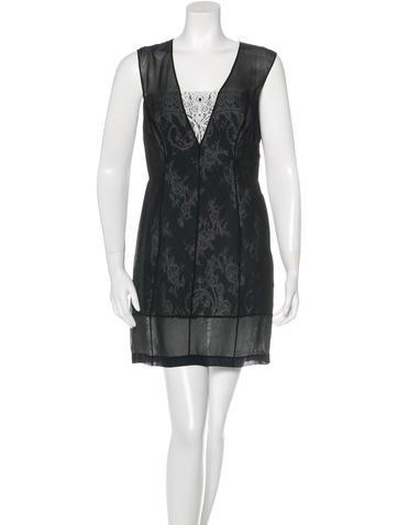 Robert Rodriguez Sleeveless Lace Dress w/ Tags None