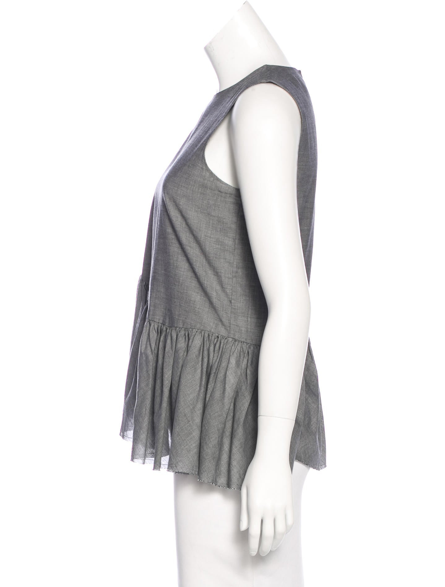 Robert Rodriguez Sleeveless A Line Top Clothing Wrr29661 The Realreal