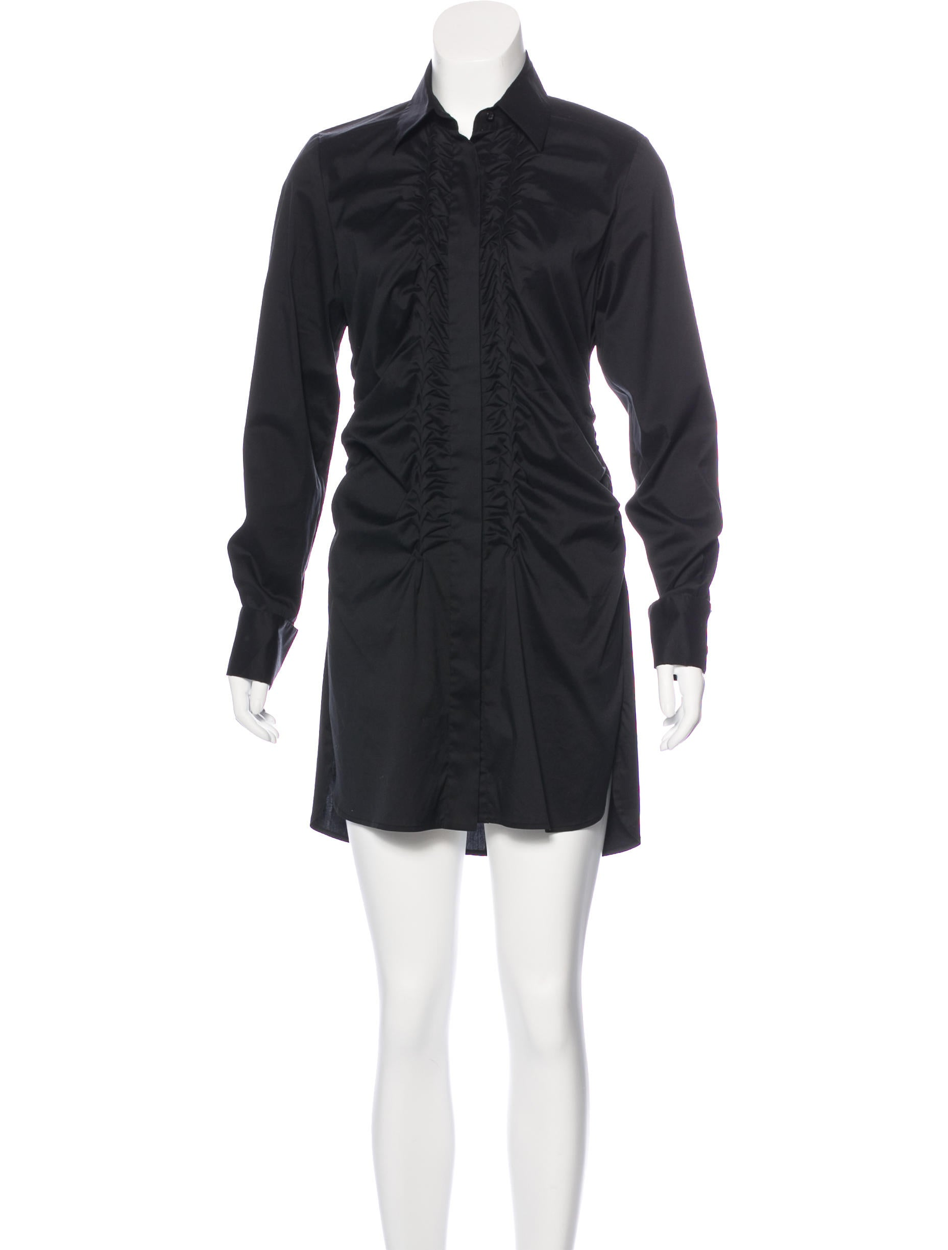 Robert Rodriguez Mini Shirt Dress Clothing Wrr29669 The Realreal