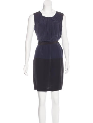 Robert Rodriguez Silk Sleeveless Dress Clothing WRR29748 The RealReal
