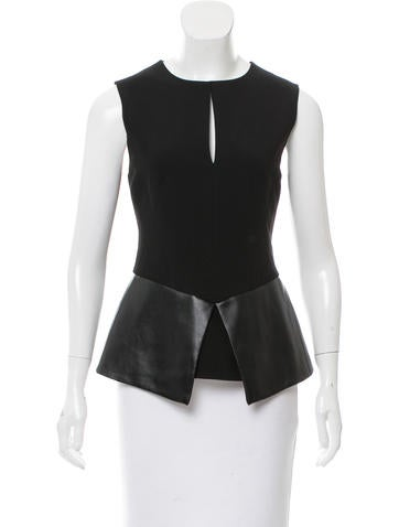 Robert Rodriguez Sleeveless Top None