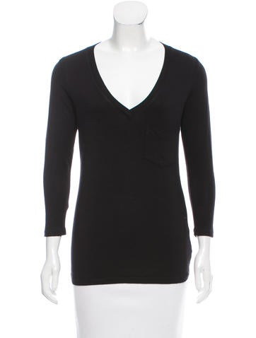 Robert Rodriguez Pocketed Long Sleeve Top None