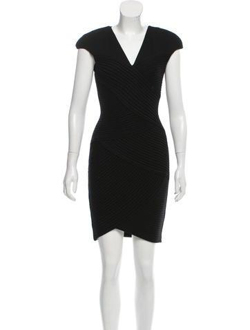 Robert Rodriguez Structured Mini Dress None
