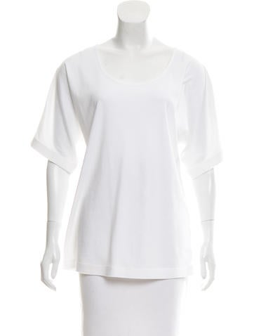 Robert Rodriguez Short Sleeve Knit Top w/ Tags None
