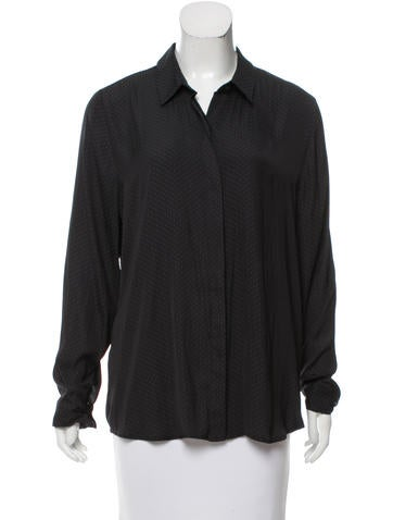 Robert Rodriguez Printed Button-Up Top None
