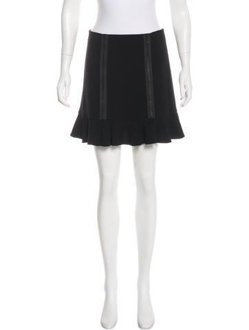 Robert Rodriguez Ruffled Mini Skirt w/ Tags None