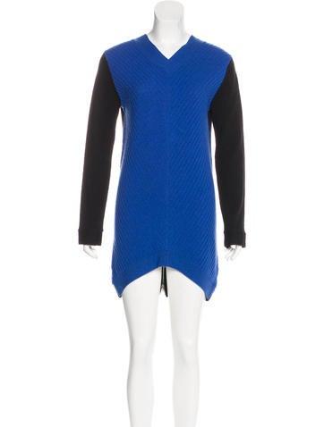 Robert Rodriguez Wool & Cashmere-Blend Dress None