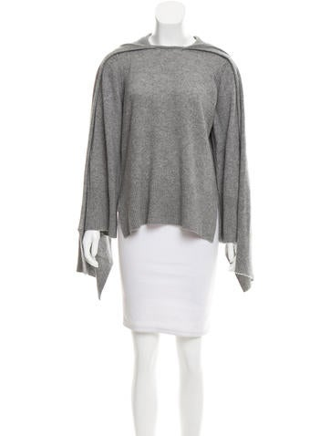 Robert Rodriguez Cashmere Draped Sweater None