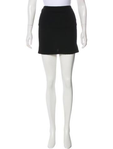 Robert Rodriguez Cashmere Knit Mini Skirt None