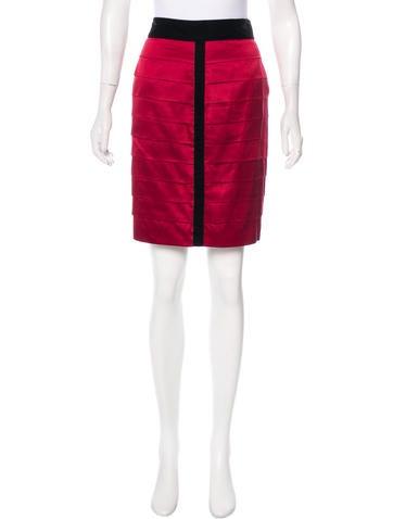 Robert Rodriguez Silk Knee-Length Skirt None